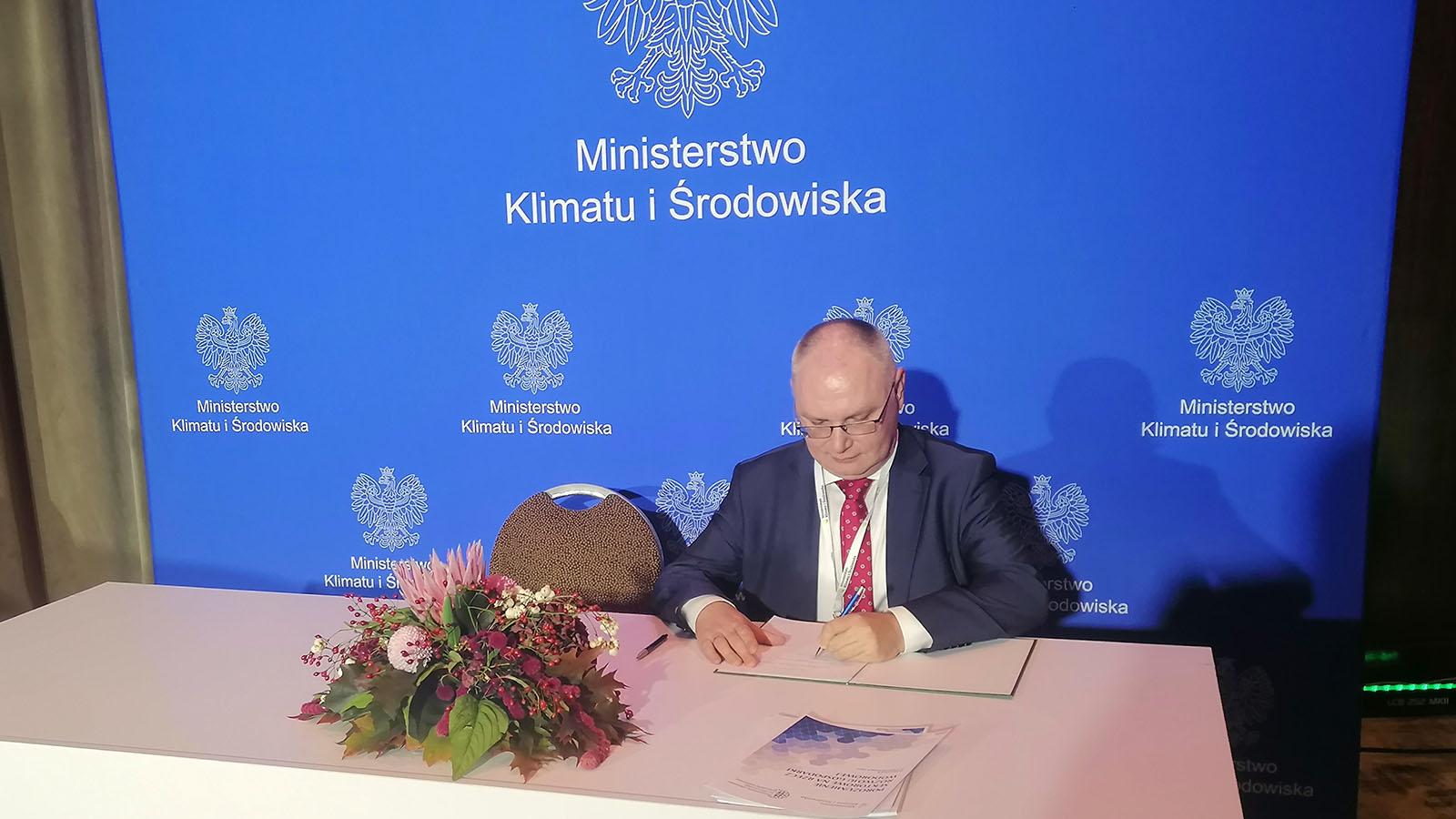 IBE jednym z sygnatariuszy Polskiego Porozumienia Wodorowego