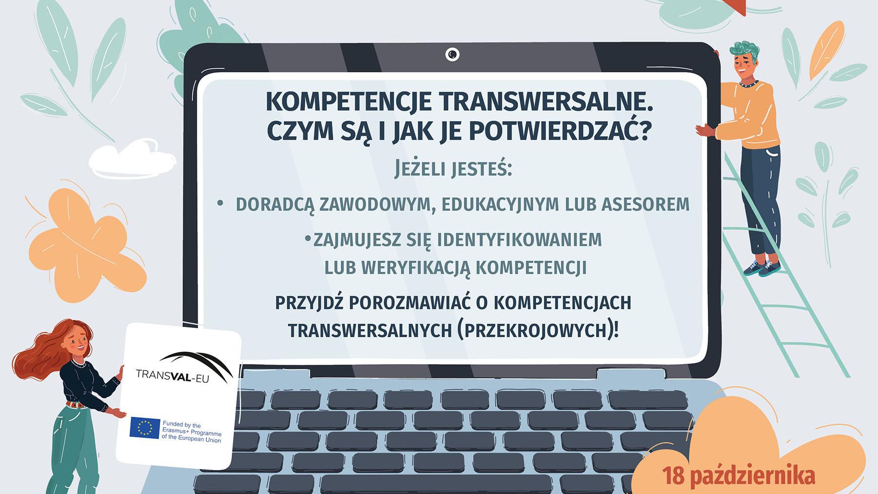 Weź udział w webinarze TRANSVAL-EU o kompetencjach transwersalnych!